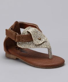 Take a look at this Cognac Sandal by Xeyes on #zulily today!
