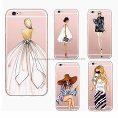 Aliexpress.com : Buy Beautiful Fashion Girl Painted Ultra Thin Transparent Soft Tpu Phone Case Coque For Apple Iphone 6 6s Plus Rubber Funda Cover from Reliable phone cases nokia suppliers on (phone)cases