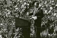 "An old preacher approached Billy Graham following the 1954 Harringay Arena Crusade in London. ""I have come here every night"" and listened to many different sermons, the minister told him, ""and I have heard only one message."" It was a compliment, for he, like Billy Graham, knew that there is only one message that can bring real hope to a lost world."