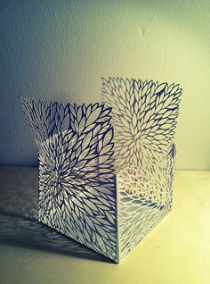 Cut Paper Structure - Leaves
