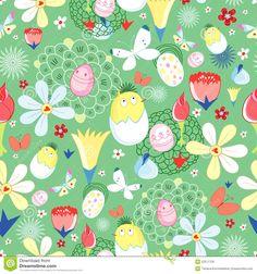 EASTER FLOWER patterns   Easter flower texture