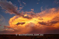Storm Chasing Mildura - Thunderstorm NE of Mildura