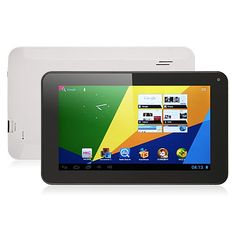 """Tablet 7"""" - HKC STD 8Gb, dual core 1.5Ghz, front camera $130"""