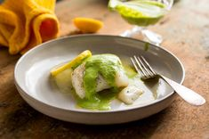 Cod Fillets With Cilantro Yogurt Sauce Recipe - NYT Cooking