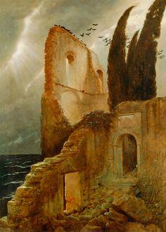 Resultado de imagen de Arnold Böcklin ulises