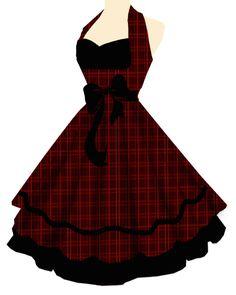 Rockabilly Dress ahhhhhh, oooohhhhhh.....I want this!
