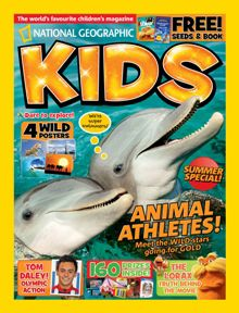 National Geographic Kids Magazine Subscription - a Christmas gift idea ? Wild Star, Subscriptions For Kids, National Geographic Kids, Subscription Gifts, Going For Gold, Tom Daley, The Lorax, Summer Special, Magazines For Kids
