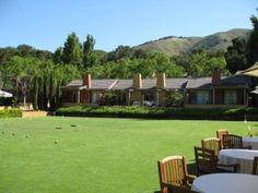 Bernardus Lodge - most amazing hotel in Carmel.  We went last fall with Dan's company