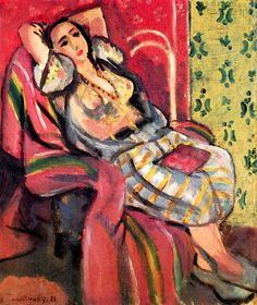 Henri Matisse ~ Odalisque, 1926