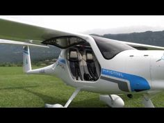 Flying Pipistrel's Electric Airplane - YouTube