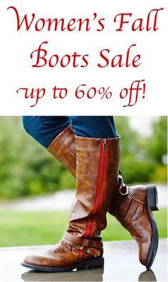 e3603a517 Fall Fashion - Women s Fall Boots Sale  up to 60% off! Womens Fall