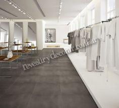 Porcelanato Concrete Grey #porcelanato #ilva #revestirydecorar #piso #pared #revestimiento #decoracion