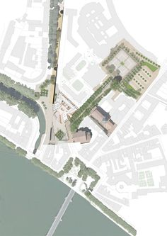 Université Toulouse 1 Capitole, Site Plan, by Grafton Architects