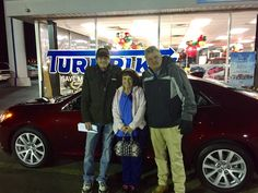 Johnny Dickens and the rest of the Turnpike Ford Family wish to thank Mr. & Mrs. Gillispie for their business 😊