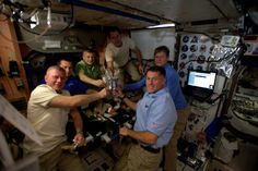 Celebrating Thanksgiving Aboard the International Space Station...
