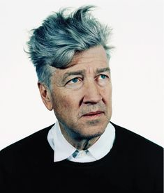 David Lynch. Great Hair Colour.