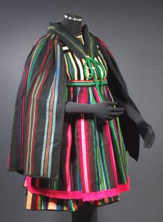 Antique folk costume from Poland