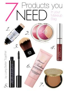 7 Products you NEED in your Makeup Bag | Living Better Together
