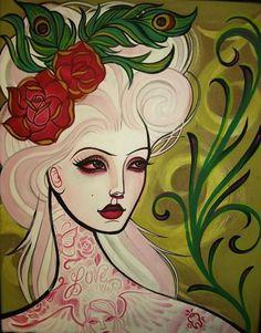 #Tattoo Illustrations by Whitney Lenox