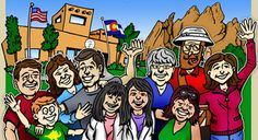 Colorado Group and Family Reunion rentals, campgrounds, resorts, cabins, vacation homes & lodge rooms listed by town and area. Family Reunions, Condos, Lodges, Cabins, Colorado, Activities, Vacation, Illustration, Free