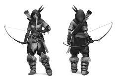 Archer - Viking Battle For Asgard - concept art