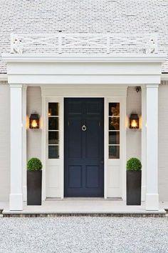 Image result for buxus ball front door