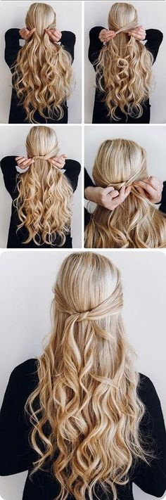 quick-hairstyle-tutorials-for-office-women-6