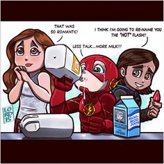 """""""More Milk!!"""" Lord Mesa. Next time you want to prove your love, Barry, maybe a ghost chili isn't the best way to do it. Just a thought."""