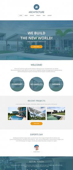 Template 49171 - Architecture Company Moto CMS HTML Template