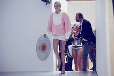 Chanel SS13 Backstage / Photo by Olivia da Costa