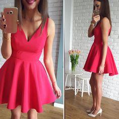 Sukienka idealna na walentynki <3