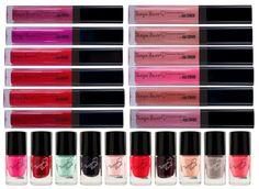 Tanya Burr Lipgloss and Nail Varnish Tanya Burr Makeup, Sand Nails, Smoke Screen, Eye Brushes, Makeup Brushes, Makeup Guide, Makeup Ideas, Brush Kit, Cute Makeup