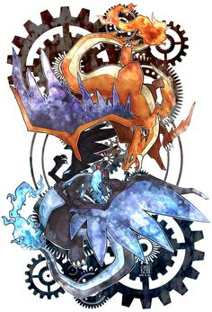 Mega Charizard X Fire Pokemon, All Pokemon, Pokemon Fan Art, Digimon, Pokemon Fusion, Charmander Charmeleon Charizard, Equipe Pokemon, Pokemon Champions, Pokemon Movies