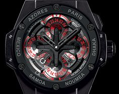 HUBLOT King Power UNICO GMT Watch