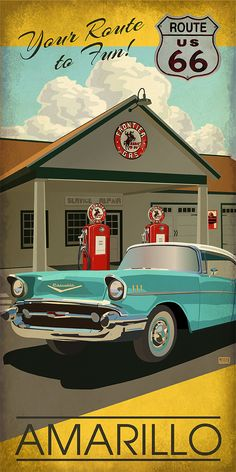 Retro Cars Illustration Vintage Travel Posters 39 New Ideas
