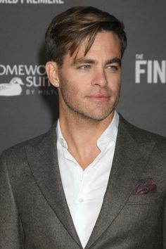 Chris Pine Seen Arriving for Jimmy Kimmel ...