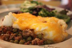 Beef Shepherds Pie Recipe for Crockpot - freezer friendly