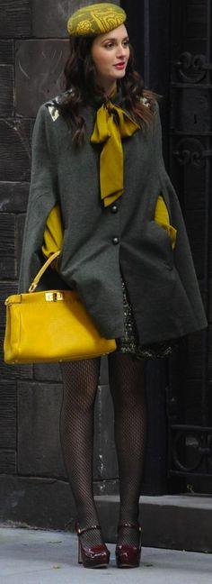 Leighton Meester as Blair Waldorf in 'Gossip Girl'