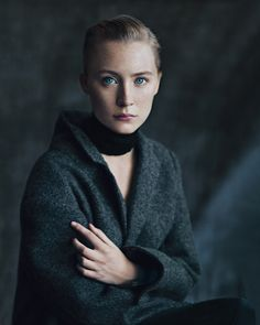 actress saoirse ronan / photographed by paolo roversi.