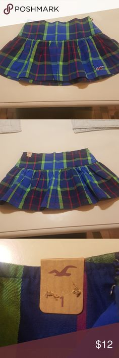 Hollister skirt Plaid Hollister skirt Hollister Skirts