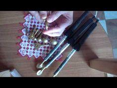 ▶ Инструменты для изготовления цветов из ткани - YouTube