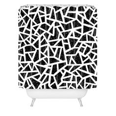 Nick Nelson Frenetic Shower Curtain | DENY Designs Home Accessories