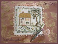 Elizabeth's Designs cross stitch pin keep