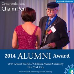 Chaim Peri, 2014 Alumni Award