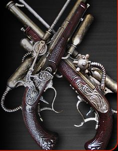 Steampunk weapon similar to what I imagine from my book. Steampunk weapon similar to what I imagine from my book. Steampunk Weapons, Steampunk Pirate, Steampunk Gadgets, Steampunk Cosplay, Steampunk Clothing, Steampunk Fashion, Gothic Fashion, Style Fashion, Gothic Steampunk