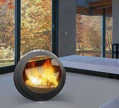 19 best freestanding fireplace images fire places freestanding rh pinterest com