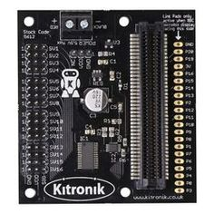Kitronik 16 servo driver board for the BBC micro:bit, with 16 x micro 180 servos and battery cage Computer Board, Bbc, Mini Arcade, Cage, Coding, Programming, Teaching