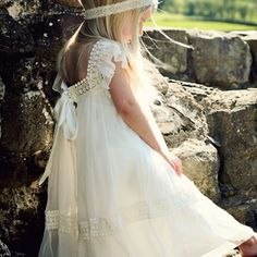 @Sarah Chintomby Whitworth ..this is what the flower girl at ur wedding will be wearing. It's kinda hippie and mega cute:)