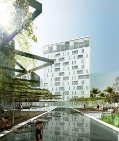 Gallery of Casablaca Anfa: Herreros Arquitectos' Proposal for a Mixed-Use Building in Morocco - 3