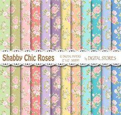 Shabby Chic Pretty Wallpaper **